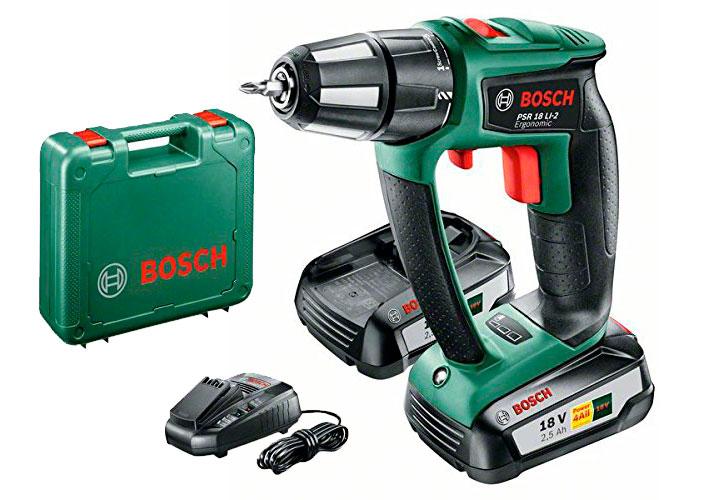 comprar atornillador taladrador bosch psr 18 li-2 ergonomic barato chollos amazon blog de ofertas bdo