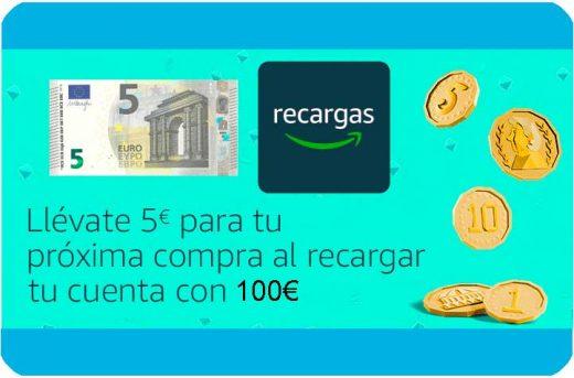 comprar recarga primeday 5 euros de regalo al recargar 100e chollos amazon blog de ofertas bdo
