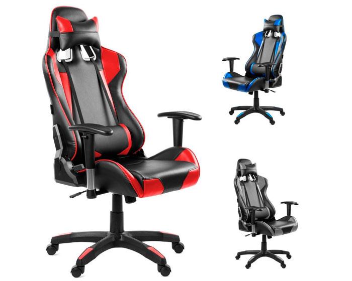 Chollo silla escritorio racing barata 99 antes 339 for Sillas de escritorio ofertas