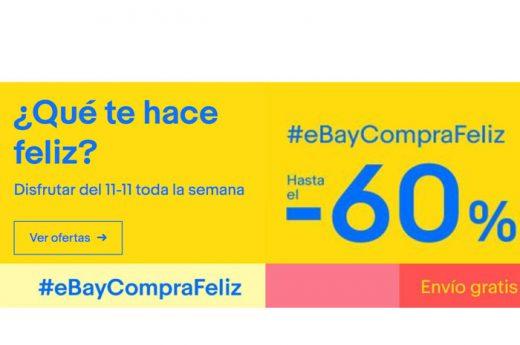 11-11 Ebay compra feliz hasta 60% descuento .jpg