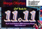 Mega Ofertas GEARBEST 11.11 ¡¡No te las pierdas, muy limitadas Xiaomi, Chuwi, Elephone, Umidigi!!