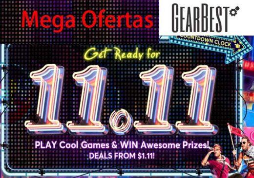 MEGA OFERTAS 11-11 GEARBEST blog de ofertas bdo