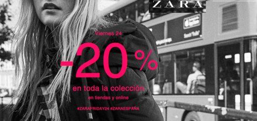 black friday zara 20 descuento todo chollos rebajas moda blog de ofertas bdo