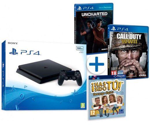 consola ps4 con 4 juegos barata chollos amazon blog de ofertas bdo