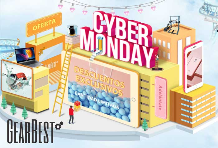 cyber monday gearbest chollos amazon blog de ofertas bdo