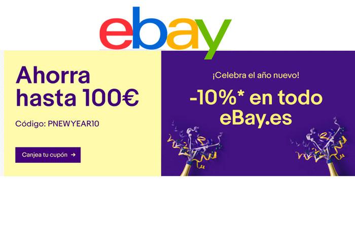Codigo descuento paypal ebay
