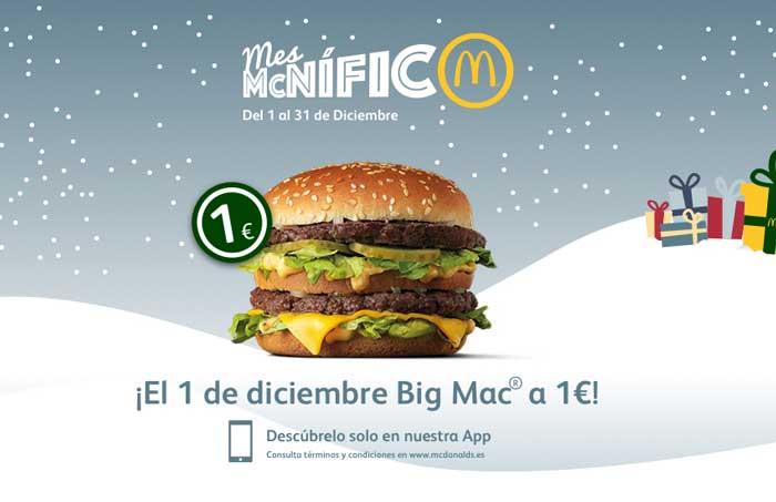 Mes Mcnifico BicMac 1 euro .