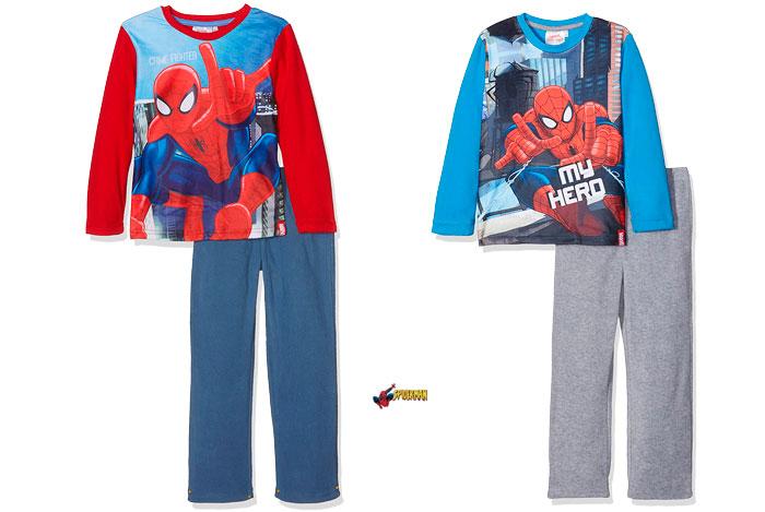 Pijama Spiderman barato oferta blog de ofertas bdo .jpg