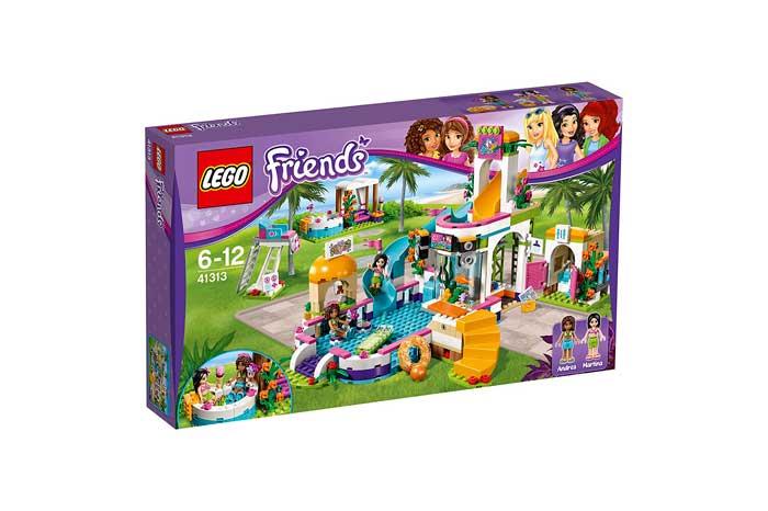 Piscina de verano de Heartlake Lego Friends barata