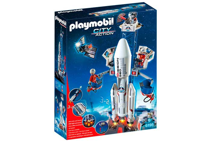 Playmobil Cohete con plataforma de lanzamiento barato oferta blog de ofertas bdo .jpg