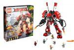 ¡Chollo! Robot del fuego LEGO Ninjago barato 57,69€ al -28% Descuento