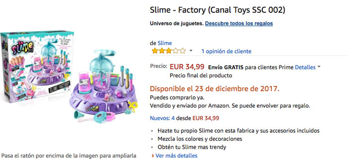 comprar slime factory barato chollos amazon blog de ofertas bdo
