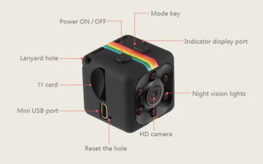 micro cámara Quelima SQ11 barata chollos amazon blog de ofertas bdo