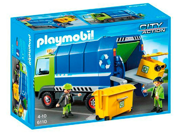 camion reciclaje playmobil barato chollos amazon blog de ofertas bdo