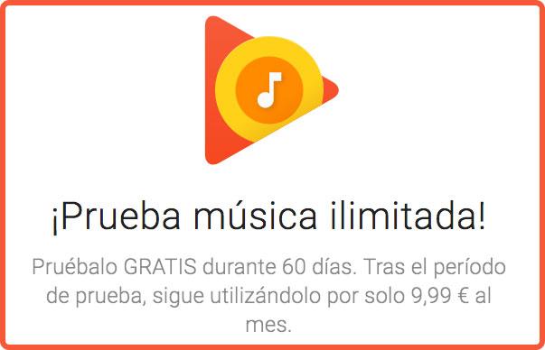 2 meses gratis google music oferta blog de chollos bdo