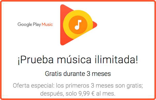 3 meses gratis google music chollos rebajas blog de ofertas bdo