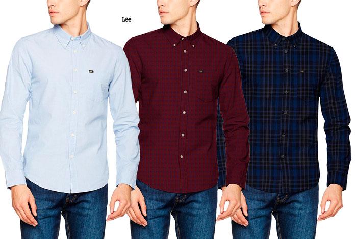 Camisa Lee Slim Button barata oferta blog de ofertas bdo .jpg
