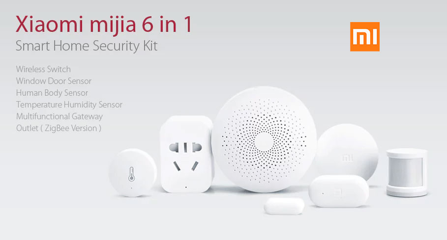 kit de alarma para el hogar xiaomi mijia smart home security barato chollos amazon blog de ofertas bdo