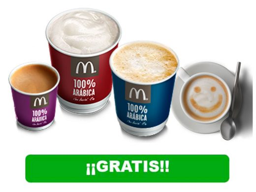 cafe gratis mcdonalds chollos rebajas blog de ofertas bdo