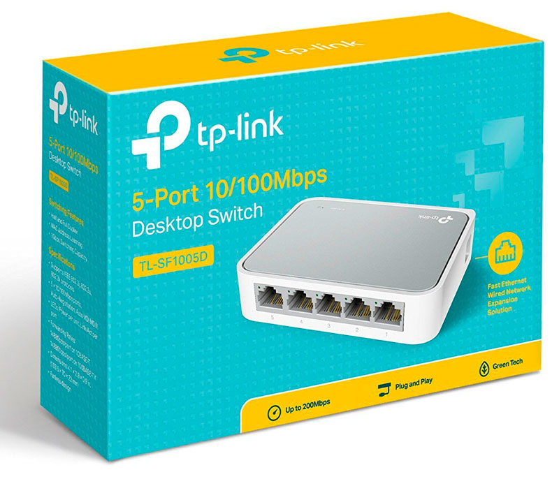 red puertos ethernet switch tp-link barato chollos amazon blog de ofertas bdo
