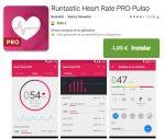 ¡¡Chollazo!! APP Runtastic Heart Rate Pro GRATIS por tiempo limitado