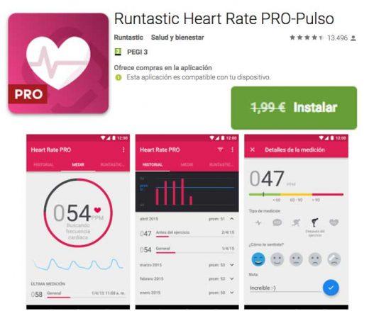 runtastic heart rate pro gratis chollos blog de ofertas bdo