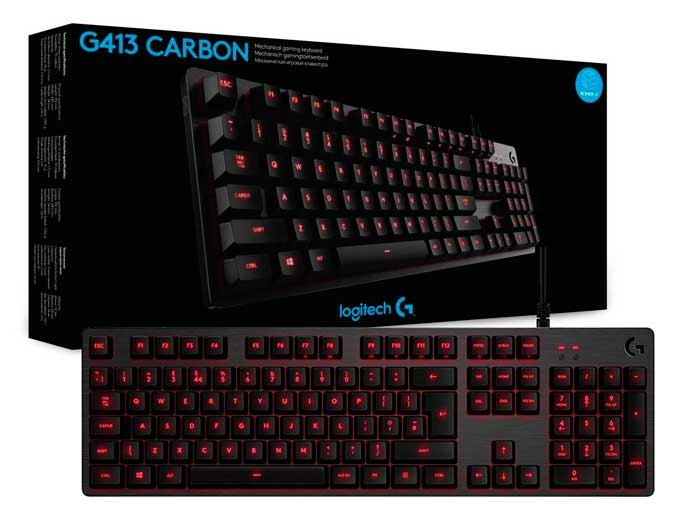 teclado mecanico logitech g413 barato chollos amazon blog de ofertas bdo