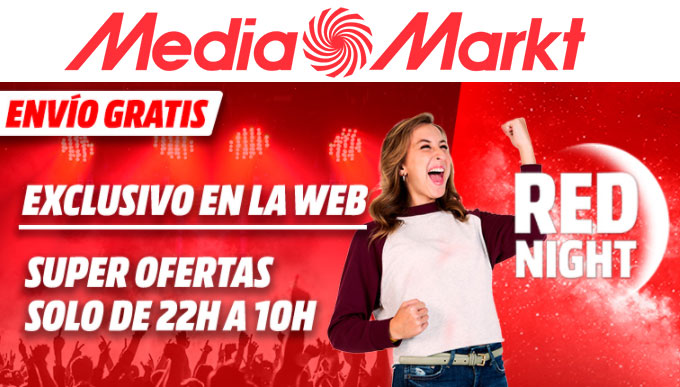 red night mediamarkt