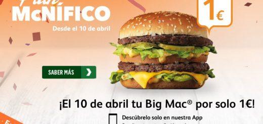 plan mcnifico big mac 1 euro mcdonalds blog de ofertas bdo