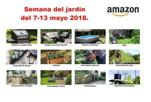 semana del jardín amazon bdo ofertas blog de ofertas