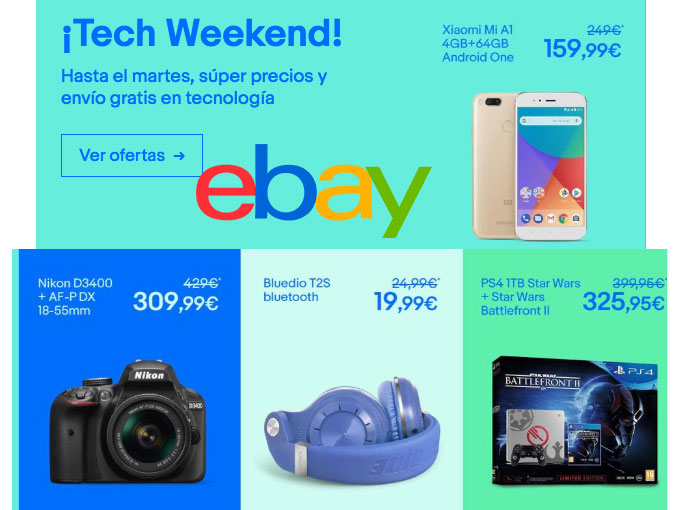 tech weekend ebay bdo