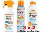 ¡¡Chollazo!! 3×2 Solares Garnier Delial, ahora al mejor precio ¡¡Summer time!!
