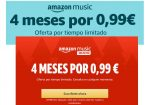 4 Meses Amazon Music Unlimited sólo 0,99€ ¡¡Pruébalo!!