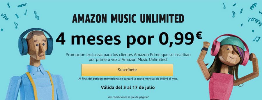 amazon music unlimited barato chollos amazon
