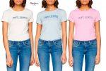 ¡Chollo! Camiseta Pepe Jeans Grace barata desde 5€ al -81% Descuento