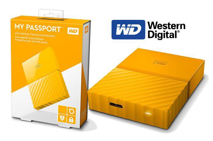 Disco duro WD My Passport 2TB barato