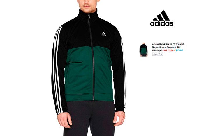 Chandal Adidas barato 25,9€ Código: DEPORTES20