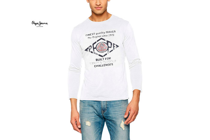 Camiseta Pepe Jeans Basuki barata