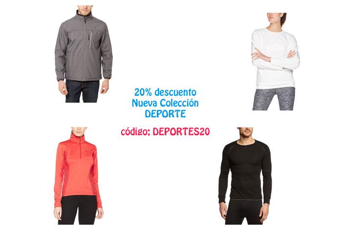 20% Descuento Nueva Colección Deporte