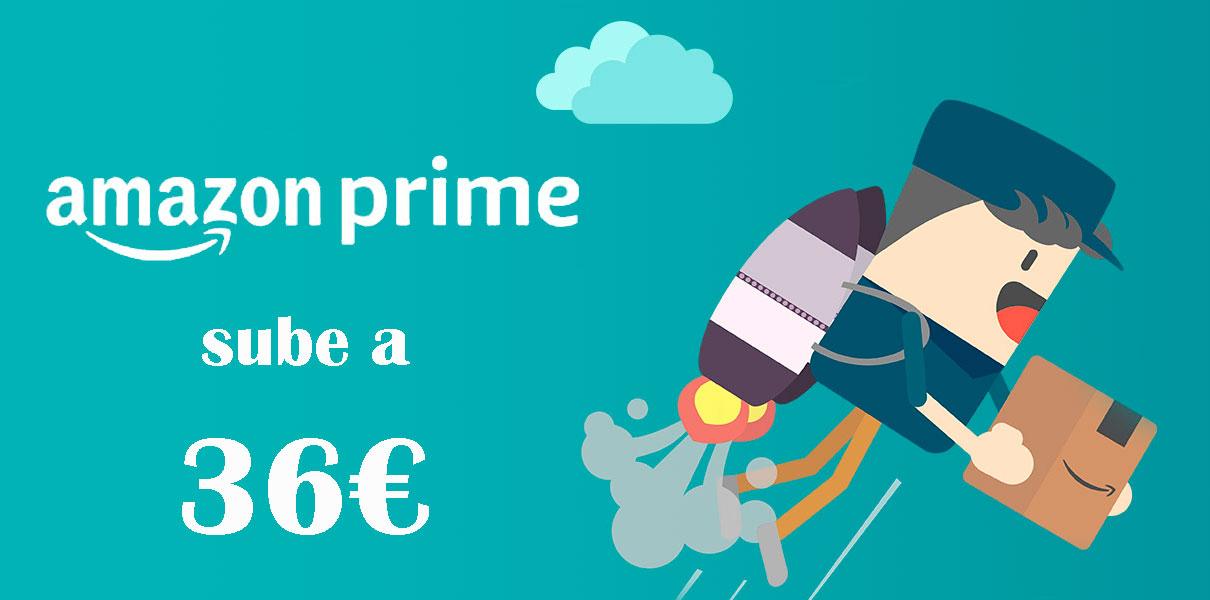 suscripcion anual amazon prime sube 36e espana