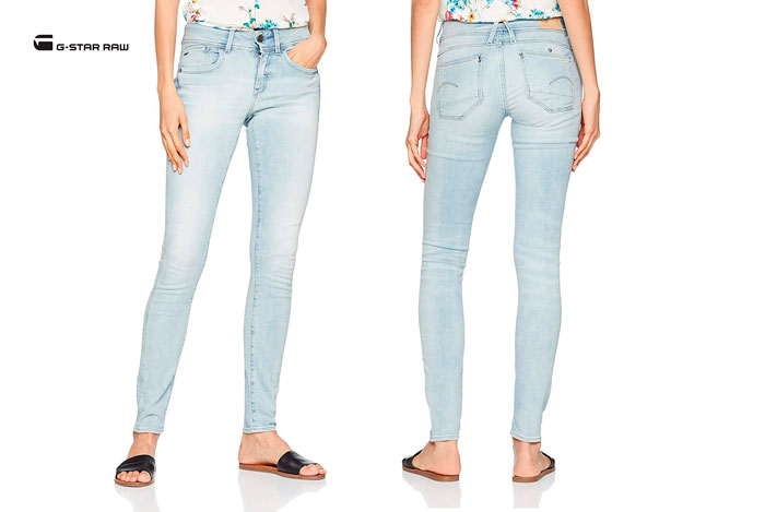 Pantalones G-Star Raw Lynn Mid baratos