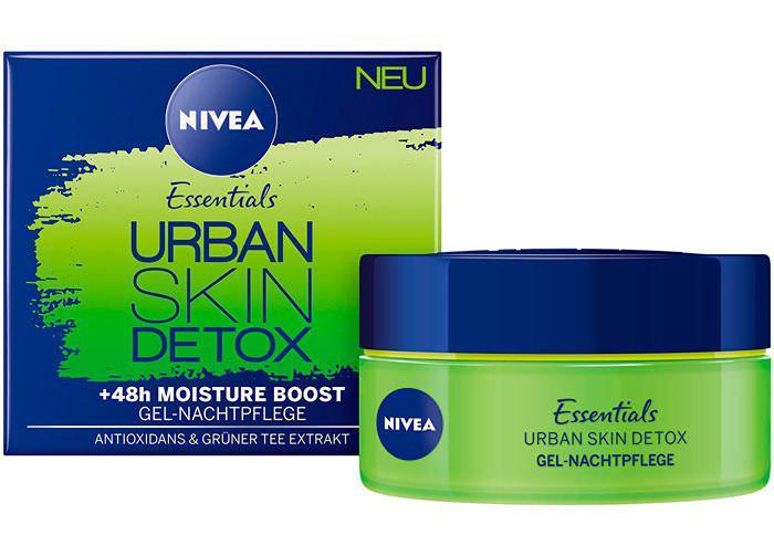 Crema noche Nivea Essential Urban Skin detox pack 3 barata