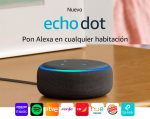 ¡Chollazo! Altavoz echo dot de amazon con alexa barato 28,9€ al 52% Descuento