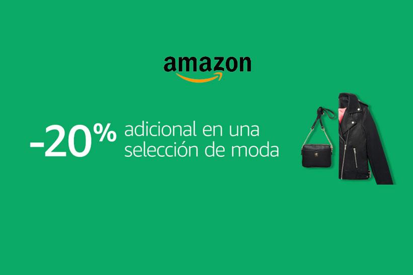 -20% Descuento Adicional en una selección de moda Amazon