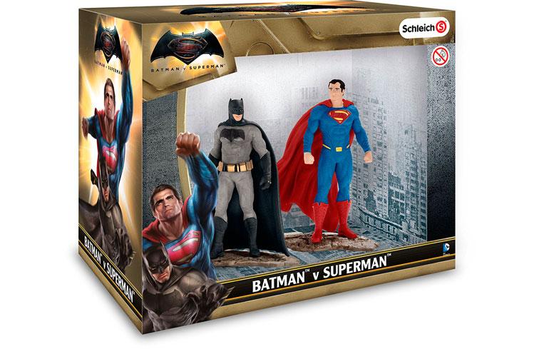 Figuras Batman y Superman DC Comics Schlein baratas