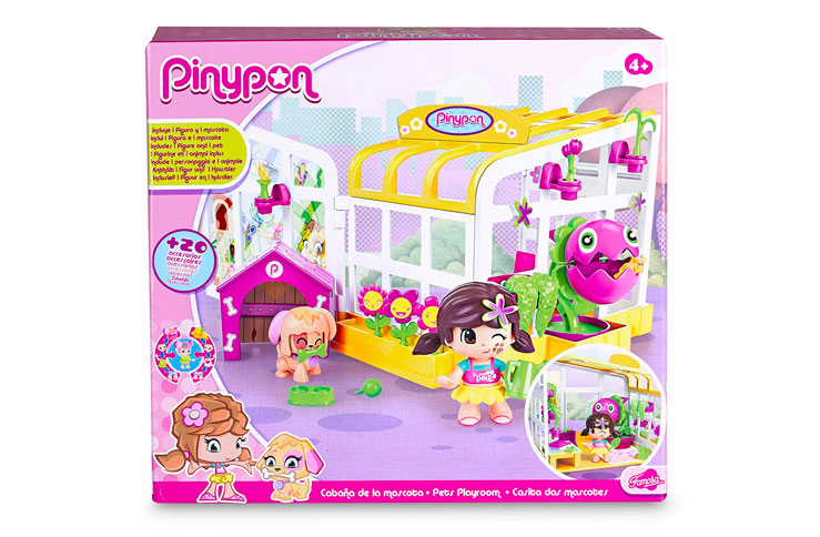 Cabaña mascotas Pinypon barata