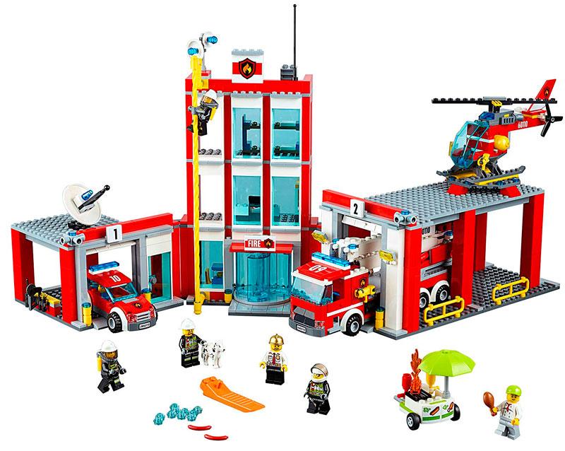 estacion de bomberos lego city