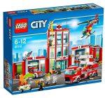 Estación de Bomberos Lego 60110 barata 52€ al -48% Descuento