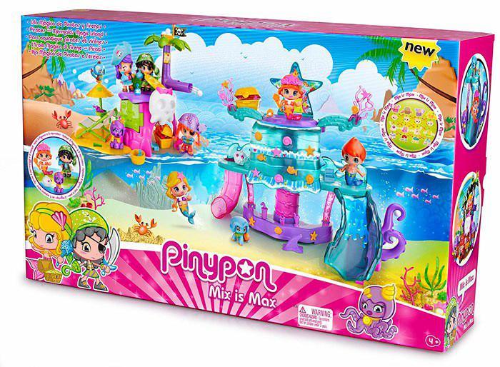 Isla mágica Piratas y sirenas Pinypon barata
