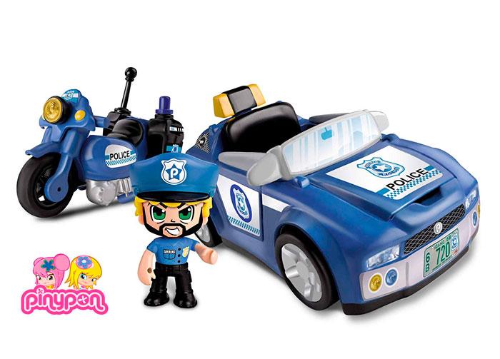 Vehículo de policías Pinypon Action barato